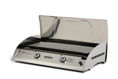 plancha grills rio2bss rio 2 burner gas griddle. Black Bedroom Furniture Sets. Home Design Ideas