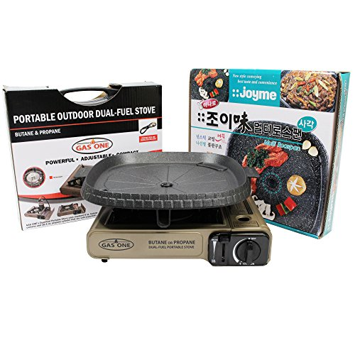 GAS ONE NEW GS-3400P Dual Fuel Portable Propane & Butane ...