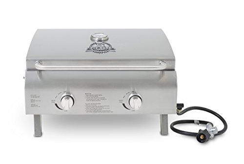 Pit Boss Grills 75275 Stainless Steel Two Burner Portable